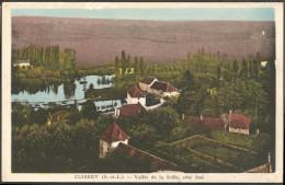 71 Cuisery Vallée De La Seille Côté Sud, Colorisée, CIM Combier Mâcon, A Voyagé Sous Enveloppe Aux Environs De 1936 - France