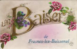 Un Baiser De Frasnes-lez-Buissenal.  (scan Verso) - Frasnes-lez-Anvaing
