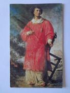 D858 - Santino Holy Card San Lorenzo - Images Religieuses