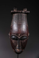 Art Africain Masque Baoulé - Art Africain