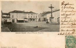 CPA - HAGETMAU (40) - Aspect De La Place Pascal Duprat En 1900 - Hagetmau