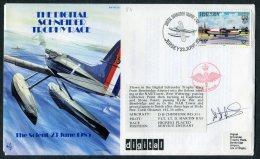 1985 Jersey Royal Air Force Flight Cover RAF AC 25, Schneider Trophy Race Bembridge SIGNED - Jersey