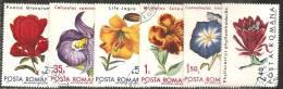 Romania 1971 Usato - Mi.2940/45  Yv.2614/19 - 1948-.... Republiken