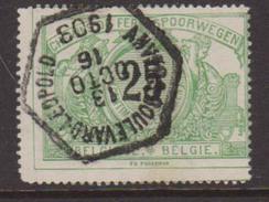 België/Belgique OBP TR/SP/CF Nr TR 18 Afgestempeld/cachet Anvers Boulevard Léopold. Tanding Zie/dentelure Voir Scan - Gebraucht