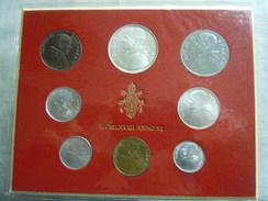 VATICAN CITY 1968 Paul VI ( VI Year) Coin FOLDER - Unc 500 Lire  SILVER RARE - Vatican