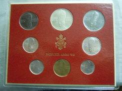 VATICAN CITY 1969 Paul VI ( VII Year) Coin FOLDER - Unc 500 Lire  SILVER RARE - Vatican