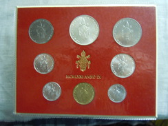 VATICAN CITY 1971 Paul VI ( IX Year) Coin FOLDER - Unc 500 Lire  SILVER RARE - Vatican