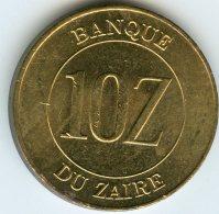 Zaire 10 Zaires 1988 KM 19 - Zaire (1971 -97)