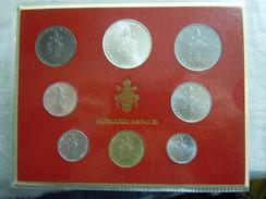 VATICAN CITY 1973 Paul VI ( XI Year) Coin FOLDER - Unc 500 Lire  SILVER RARE - Vatican