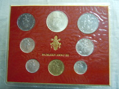 VATICAN CITY 1974 Paul VI ( XII Year) Coin FOLDER - Unc 500 Lire  SILVER RARE - Vatican
