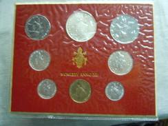 VATICAN CITY 1975 Paul VI ( XIII Year) Coin FOLDER - Unc 500 Lire  SILVER RARE - Vatican