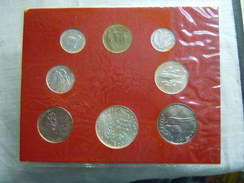 VATICAN CITY 1976 Paul VI ( XIV Year) Coin FOLDER - Unc 500 Lire  SILVER RARE - Vatican