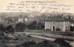 CPA PONT D'ALAI - VUE GENERALE - Frankrijk