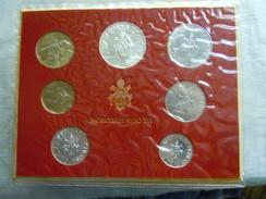 VATICAN CITY 1978 Paul VI ( XVI Year) Coin FOLDER - Unc 500 Lire  SILVER RARE - Vatican