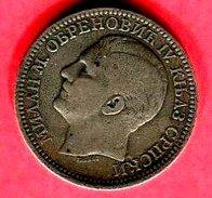 § 2 DINAR    ( KM  11) TB+  75 - Serbie