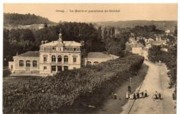 ORSAY ( Essonne ) -  LA MAIRIE ET PANORAMA DU GUICHET -  1916 - Orsay