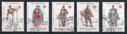 Ordre De Malte 1979 : Timbres Yvert & Tellier N°166 à 170 Avec Oblitération Manuelle (cachets Ronds) - Malte (Ordre De)