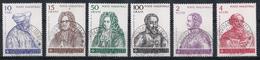 Ordre De Malte 1981 : Timbres Yvert & Tellier N°192 à 197 Avec Oblitération Manuelle (cachets Ronds) - Malte (Ordre De)