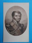 17 : ILE D'AIX : MUSEE GOURGAUD , LE GENERAL BERTRAND Qui Partagea La Captivité De Napolé,C.P.A Carte En Très Bon état , - Museum