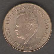 MONACO 10 FRANCS 1979 RAINIERI III - Monaco