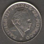 MONACO 2 FRANCS 1981 RAINIERI III - Monaco