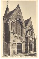 Cpa Breteuil Sur Noye - L'église ... - Breteuil