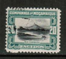 MOZAMBIQUE CO.  Scott # 161 VF USED - Mozambique