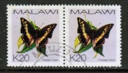MALAWI  Scott # 711 VF USED PAIR - Malawi (1964-...)