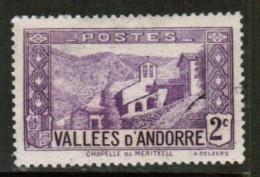 ANDORRA---French  Scott # 24 VF USED
