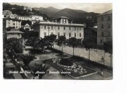 ALASSIO PIAZZALE STAZIONE   VIAGGIATA FG - Savona