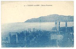 Cpa Algérie - Tigzirt Sur Mer - Ruines Romaines - Algérie