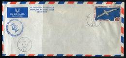 T.A.A.F. -  PA N° 4 / LETTRE OBL. TERRE ADÉLIE LE 1/1/1962 AVEC CACHET SPECIAL XI émE EXPEDITION, PAS CIRCULÉE - TB - Covers & Documents