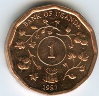Ouganda Uganda 1 Shilling 1987 UNC KM 27 - Ouganda