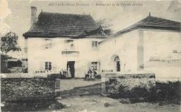64-869  CPA   Original   ABITAIN  Restaurant De La Grande Avenue      Belle Carte - France