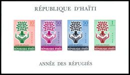 Haiti, 1960, World Refugee Year, MNH Imperforated Sheet, Michel Block 13 - Haiti