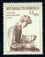 1955  Journée Du Timbre  MiNr 1023  ** - 1945-.... 2. Republik