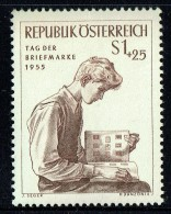 1955  Journée Du Timbre  MiNr 1023  ** - 1945-.... 2ª República