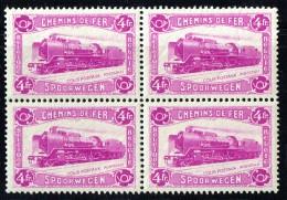 1934  Locomotive  Bloc De 4  COB TR 176 ** - 1923-1941