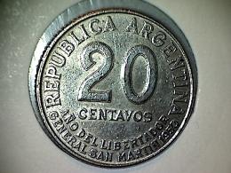 Argentine 20 Centavos 1950 - Argentina