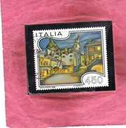 ITALIA REPUBBLICA ITALY REPUBLIC 1986 PROPAGANDA TURISTICA TOURISM CAPRI LIRE 450 USATO USED OBLITERE´ - 1981-90: Gebraucht