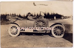FRANCE - 45 - BRIARE (?). AUTOMOBILE. CARTE PHOTO. - Briare