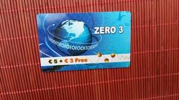 Phonecard Belgium Zero 3  Used 2 Scans Rare - Belgium