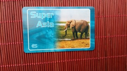 Prepaidcard  Super Asia Belgium  Very  Rare 2 Scans - [2] Prepaid & Refill Cards