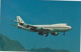 China Airlines Cargo - Boing B-747-209F.  Kai Tak Airport - Hong Kong.   S-3092