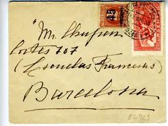 GUERRA CIVIL Carta Con Sello MANILLA -MADRID Y URGENTE MADRID MAR 38   EL425