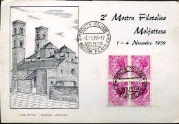 16188 Italia, Special Postmark 1959, Molfetta,  2^ Mostra Filatelica Molfettese 1959 - Esposizioni Filateliche