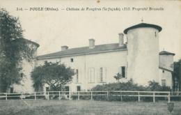 69 POULE / Château De Fougères / - France