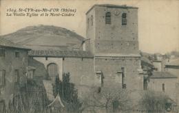 69 SAINT CYR AU MONT D'OR / La Vieille Eglise Et Le Mont Cindre / - France
