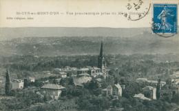 69 SAINT CYR AU MONT D'OR / Vue Panoramique Prise Du Mont Cindre / - France