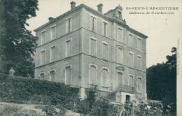 69 SAINT GENIS L'ARGENTIERE / Château De Gouttenoire / - France